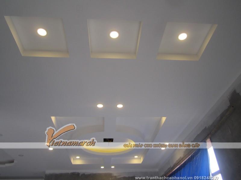 Hoàn thiện trần thạch cao nhà anh Linh - Thuận Thành - Bắc Ninh