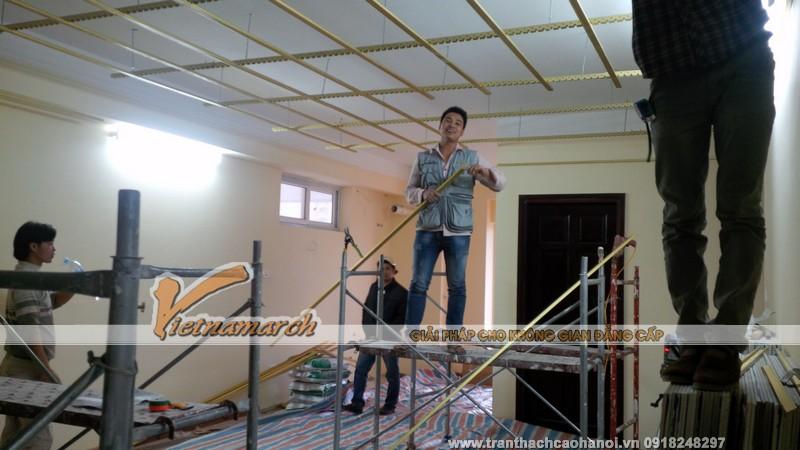 Thi công trần thạch cao cho nhà chung cư