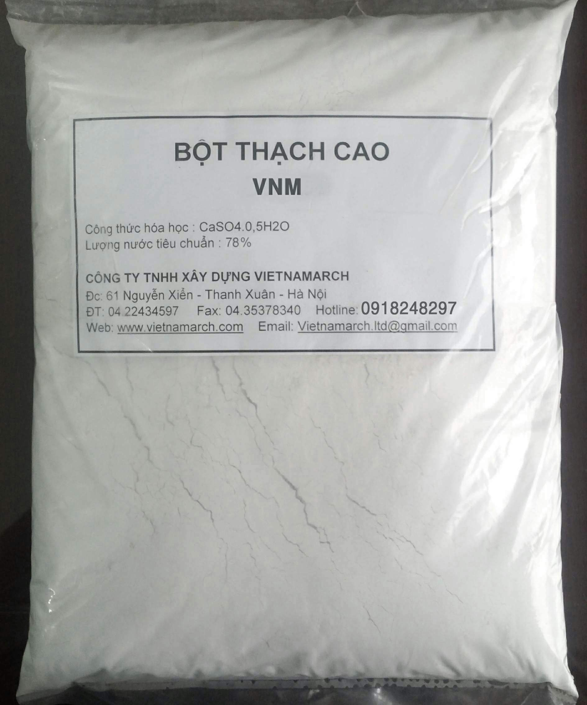 Bột thạch cao VNM