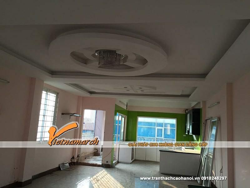 Thiết kế trần thạch cao phòng khách 02