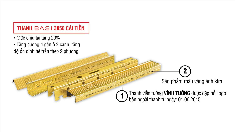Khung xương Vĩnh Tường Basi thương hiệu vượt trội được Vietnamarch thường xuyên sử dụng