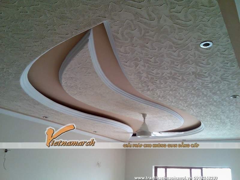 15 Ý tưởng thiết kế trần nhà đẹp từ trần thạch cao 01