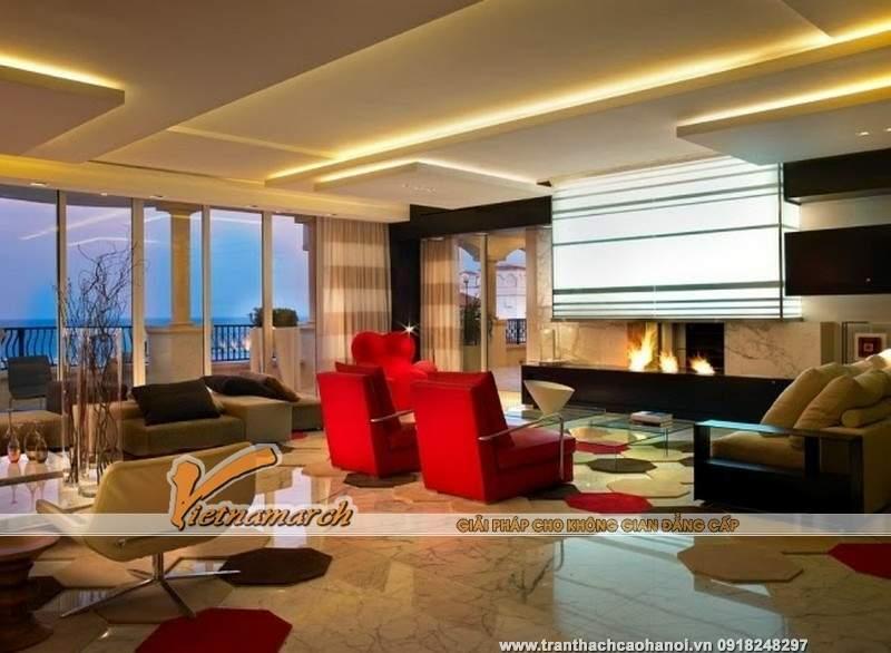 15 Ý tưởng thiết kế trần nhà đẹp từ trần thạch cao 03