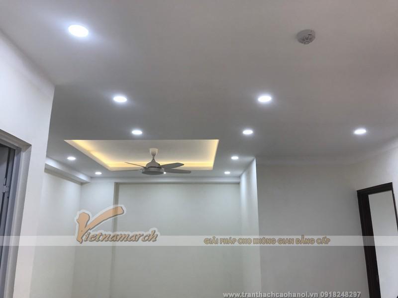 Cập nhật toàn bộ hình ảnh dự án từ khi thi công tới lúc hoàn thiện của trần thạch cao chung cư tại Định Công-Hà Nội