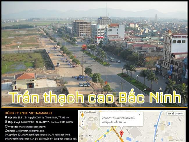 THi công trần thạch cao tại Bắc Ninh